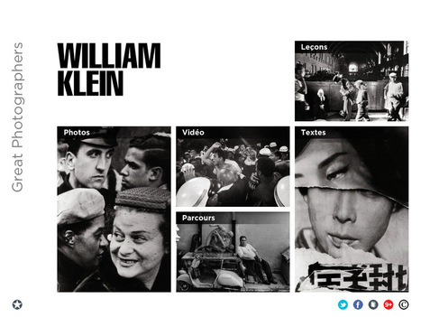 App series: William Klein & Mario Giacomelli | Le Journal de la Photographie | Photography Now | Scoop.it