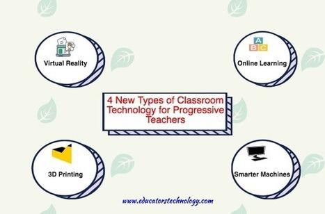 4 New Types of Classroom Technology for Progressive Teachers | Дистанционная Школа | Scoop.it