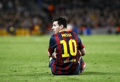 Barcelonan pahin pelko toteutui: Lionel Messi on pitkään sivussa   jalkapallo   Scoop.it