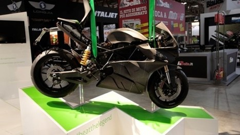 Energica Ego Is A 3D-Printed Electric Superbike - Gas 2.0 | e-Manufacturing Additive & Digital technology | Scoop.it