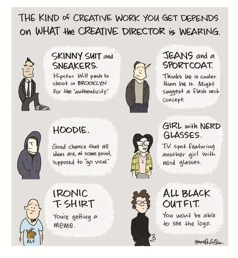 The Six Most Popular Creative Director Outfits - BuzzFeed | Creative Economy | Scoop.it