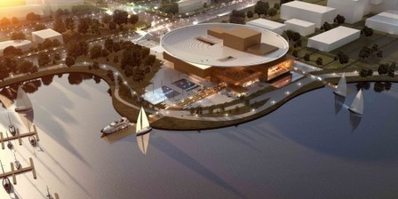 Busan, Korea, Opera House Proposal: 3rd Prize Winner / Henning Larsen Architects + Tomoon Architects | The Architecture of the City | Scoop.it