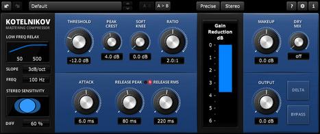 FREEWARE (VST. Win, AU. Mac) - TDR Kotelnikov   G-Tips: Audio Ressources   Scoop.it