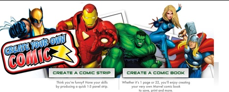 Create Your Own Comic | Students Learning with Laptops | Scoop.it