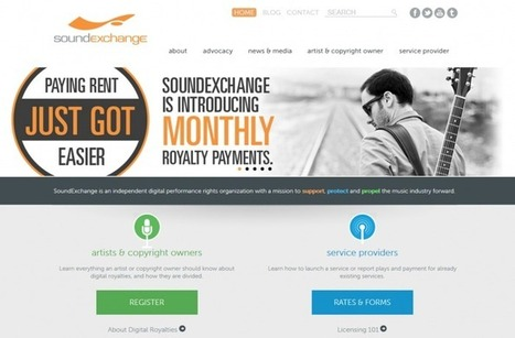 SoundExchange Best Pro in the Music Industry? Now with Monthly Royalty payments   F.O.M.A.WORLD   Scoop.it