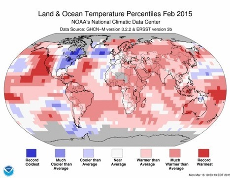 Globally, this was the hottest winter on record, with the smallest measured Arctic sea ice maximum | Laurence Lewis | Daily Kos | @The Convergence of ICT & Distributed Renewable Energy | Scoop.it