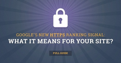 HTTPS as Google's new ranking signal - full guide | opencart - simple, easy and powerfull solution for e-commerce | Scoop.it