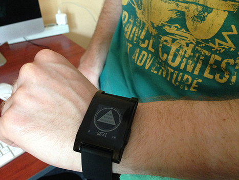 Our First Steps In Wearable: Application For Pebble Watch | Mobile Development & Design (iOS & Android) | Scoop.it