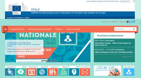 Lancement d'Epale, plate-forme pour les professionnels de la formation | Time to Learn | Scoop.it