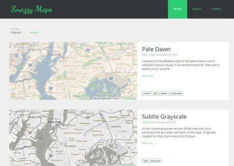 Herramientas para crear estilos personalizados para mapas de Google Maps   Edu-Recursos 2.0   Scoop.it