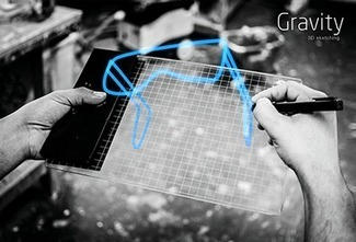 Gravity - Sketch in 3D space using Augmented Reality | generativ art architecture | Scoop.it