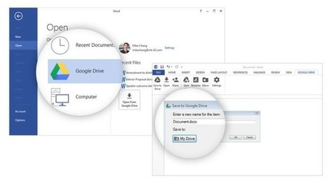 Google lanza plugin de Google Drive para Microsoft Office en Windows│@wwwhatsnew | Universidad 3.0 | Scoop.it