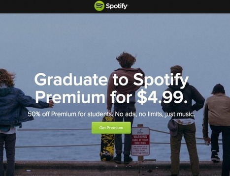 Spotify Offers Students a Discount on Premium Subscriptions | Music Streaming | Scoop.it