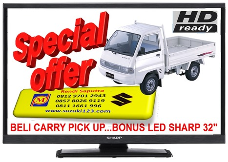 BELI CARRY PICK UP DI BEKASI BONUS LED SHARP 32 INCH   BERITA SATU MEDIA   Scoop.it