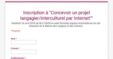 Concevoir un projet langagier/interculturel par Internet: Elke Nissen, Grenoble, avril | TELT | Scoop.it