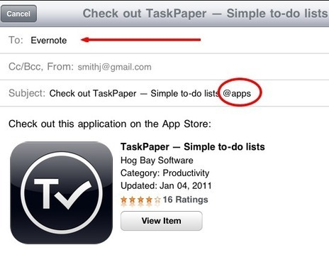 How to Add an App to Your Wishlist from the iPad or iPhone : Notebooks.com   It's All Social   Scoop.it