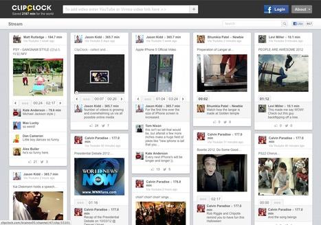 ClipClock - Ne partager que les passages intéressants des vidéos youtube et vimeo | Internet: Recherche et Sécurité | Scoop.it