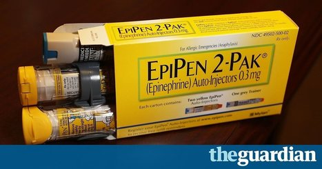 Mylan CEO sold $5m worth of stock while EpiPen price drew scrutiny | Entrepreneurship | Scoop.it