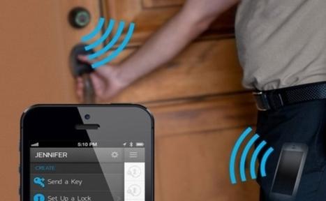 Unlock Smart Doors with help of Smart Phones| Goji smart lock for the home | News | Scoop.it