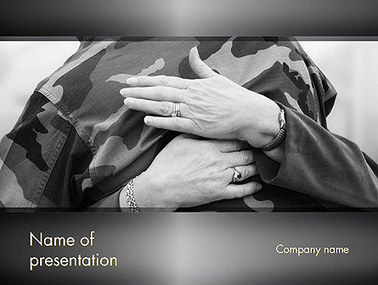 Veterans and Their Families Presentation Template | Presentation Templates | Scoop.it