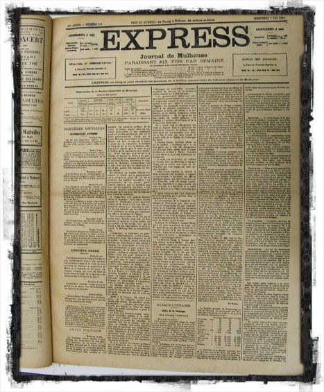 Presse alsacienne & histoire familiale -[1]-: L'Express | Rhit Genealogie | Scoop.it