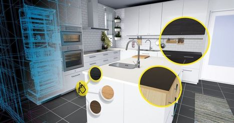Ikea made a kitchen showroom in VR | SocialWebBusiness | Scoop.it