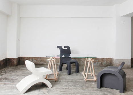 Flip Series furniture by Daisuke Motogi Architecture for Sixinch JAPAN | Art, Design & Technology | Scoop.it
