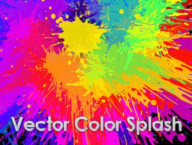 FREE Vector - Paint Splash | G-Tips: Design Ressources | Scoop.it