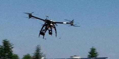 Un drone pour inspecter les centrales solaires - BFMTV.COM   Drone et prises de vues aériennes   Scoop.it