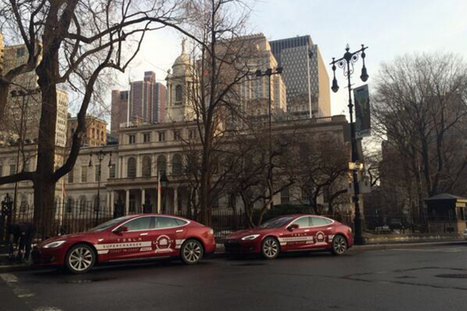 Tesla completes its cross-country world record attempt | Autonomous Vehicle Impacts | Scoop.it