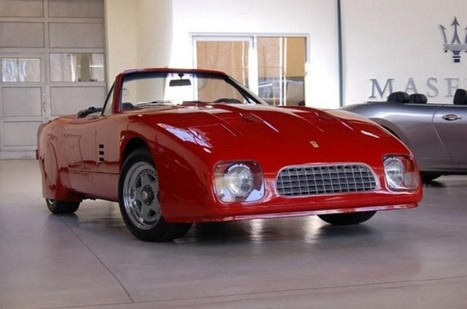 Very rare 1969 Ferrari 365 GT Speciale for sale | Historic cars and motorsports | Scoop.it