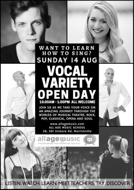 Vocal Variety Open Day Poster Aug 2016-2_zpsyolrn0as.jpg (724x1024 pixels) | All Age Music | Scoop.it