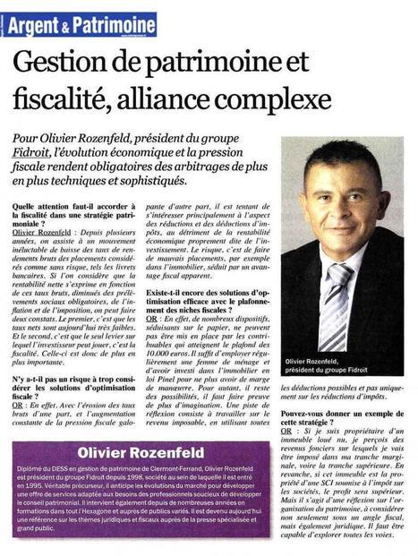 Gestion de patrimoine et fiscalité, alliance complexe (Argent et Patrimoine) | Cabinet Lays Pellet & Associés Lyon | Scoop.it