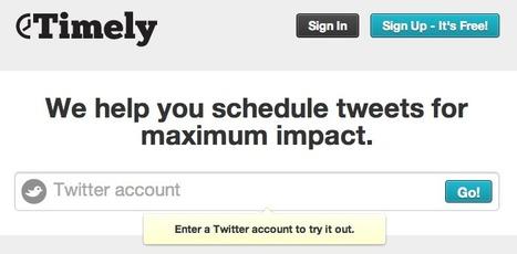 [Astuce] Tweetez toujours à la bonne heure | Accessoweb.com | Social Media Curation par Mon Habitat Web | Scoop.it