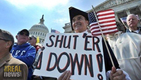The Tea Party and the Suppression of the Left - The Real News | Tea Partying | Scoop.it