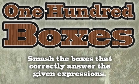 One Hundred Boxes | Classroom eLearning | Scoop.it