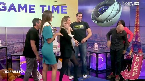 Photos : Iris Mittenaere en robe sexy dans L'Expresso sur Bein Sports | Radio Planète-Eléa | Scoop.it