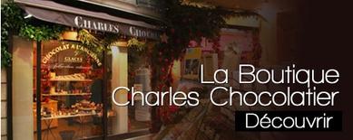 Charles Chocolatier - Chocolaterie à Paris et chocolat en ligne   Chocolats   Scoop.it