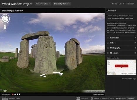 Google World Wonders Project | World Heritage Sites Year 7 Geography | Scoop.it