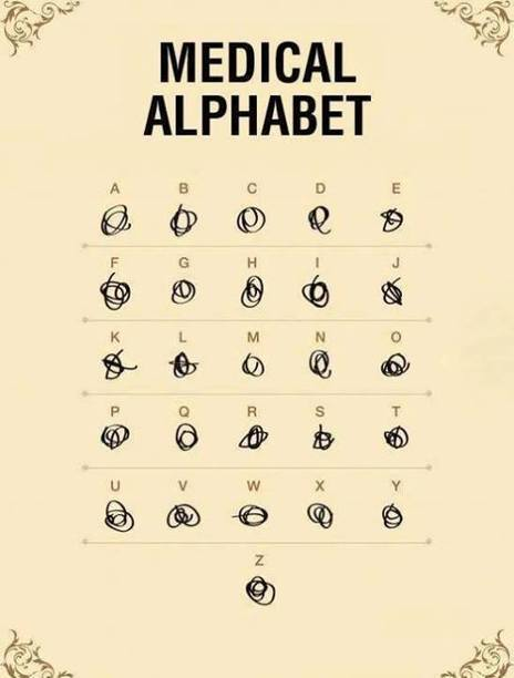 Alphabet Medical | Baie d'humour | Scoop.it