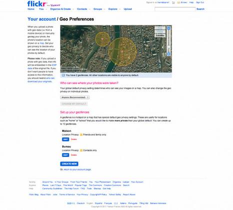 Flickr lance Geofences, la géolocalisation des droits   SocialWebBusiness   Scoop.it
