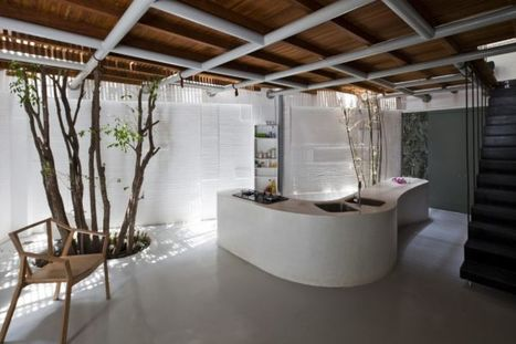 Inviting office-house by a21 studio | Designing Interiors | Scoop.it