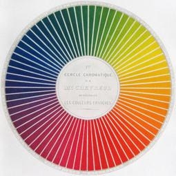 #243 ❘ La loi du contraste simultané d'Eugène Chevreul ❘ 1839 | # HISTOIRE DES ARTS - UN JOUR, UNE OEUVRE - 2013 | Scoop.it