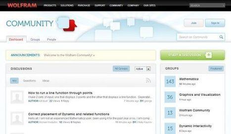 Wolfram presenta su propia comunidad online | erreros y más | Scoop.it