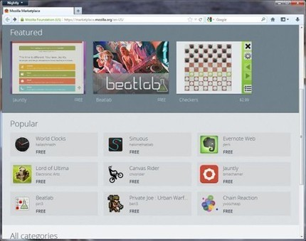Firefox 16 beta arrives with web app hooks, Reader Mode for ... | iPhones and iThings | Scoop.it