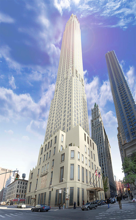 A/N Blog . Stalled Residential Tower in Lower Manhattan to Rise Next to Woolworth Building | The Architecture of the City | Scoop.it