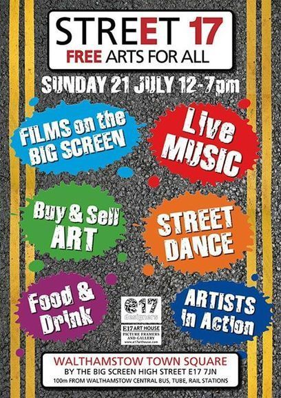 Street17 - Art goes live in the heart of Walthamstow | Walthamstow Times | Of Stow Interest | Scoop.it