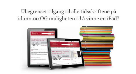 Idunn - gratis adgang til 15.4 | Skolebibliotek | Scoop.it