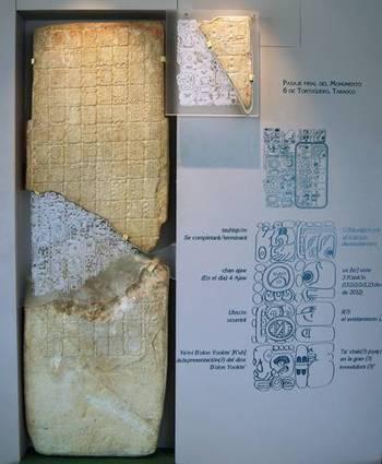 Piedra maya no es apocalíptica, sólo relata vida y batallas de un gobernante | El misterio de la selva de los Mayas | Scoop.it