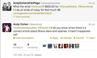 Rhymes with Snitch | Entertainment News | Celebrity Gossip: Kenya Moore Caught Lying | GetAtMe | Scoop.it